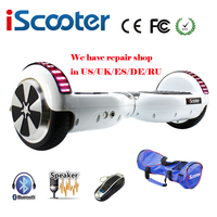 UL2272 IScooter 2 Smart Steering Wheel Hoverboard Self Balance Electric Scooter Skateboard With A Carry Bag
