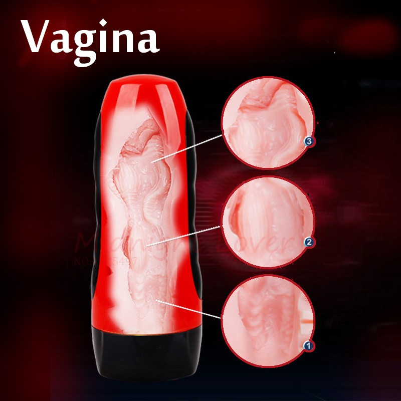 Electric-Male-Masturbator-USB-Rechargeable-Artificial-Vagina-realistic-Girl-Pussy-Oral-Sex-Adult-Sex-Products-for