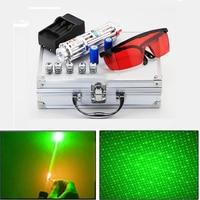 High Power Green Laser Pointer Military Powerful laser sight 5000m Focusable lazer pen Focusable Burn Match