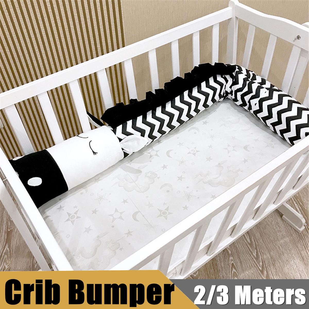 Medium Of Mesh Crib Bumper
