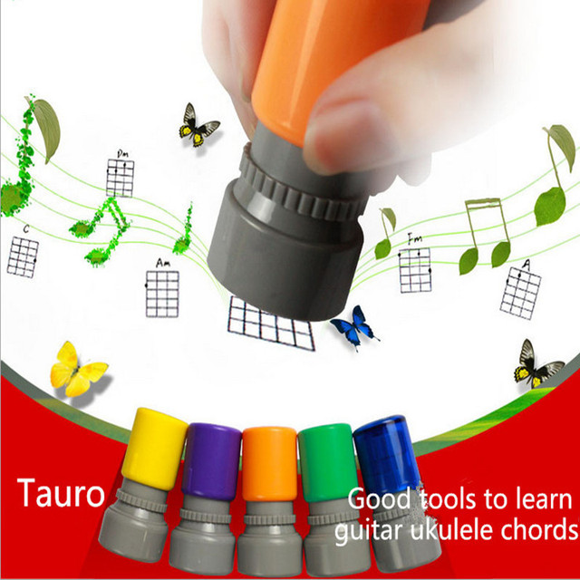 Guitar Chord Stamp Accessories Ukulele Guitar Classic Chords Print