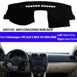 Накладка на приборную панель автомобиля, коврик для Volkswagen VW Golf 5 MK5 A5 2004 2005 2006 2007 2008, коврик для приборной панели, коврик для автомобиля, солнце...