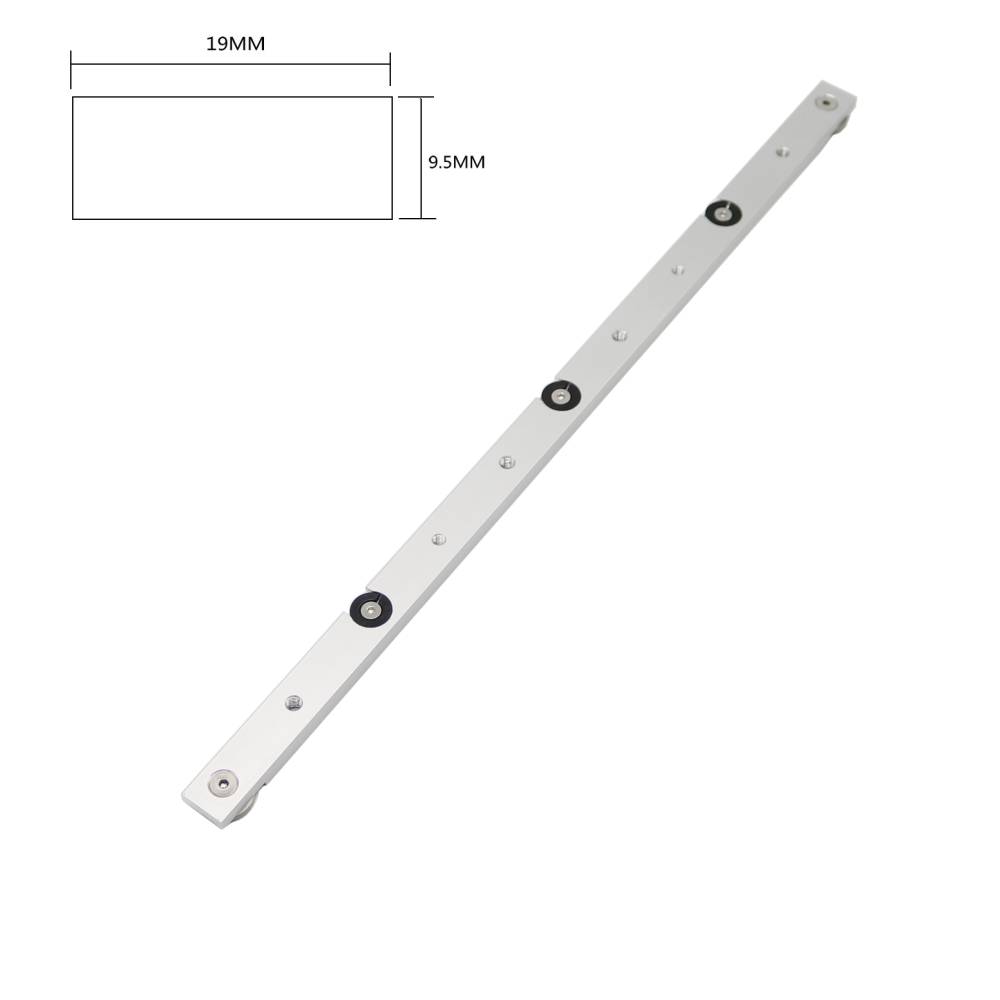 18inch 450mm Aluminium Alloy Miter Bar Slider Table Saw Gauge Rod Durable In Use цена и фото