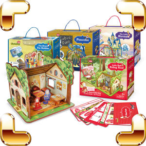 Children 3D Puzzles Model Kids Educational Toys Game