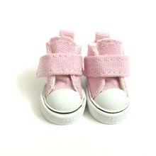 3,5 см Повседневная парусиновая обувь для 1/8 BJD кукла модная мини игрушка обувь кроссовки Bjd кукла обувь для кукол аксессуары 12 пара/лот
