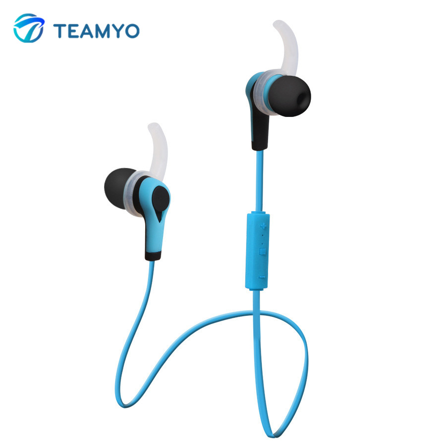 teamyo bt49 bluetooth headset best wireless sports earphone with mic hd stereo sweatproof. Black Bedroom Furniture Sets. Home Design Ideas