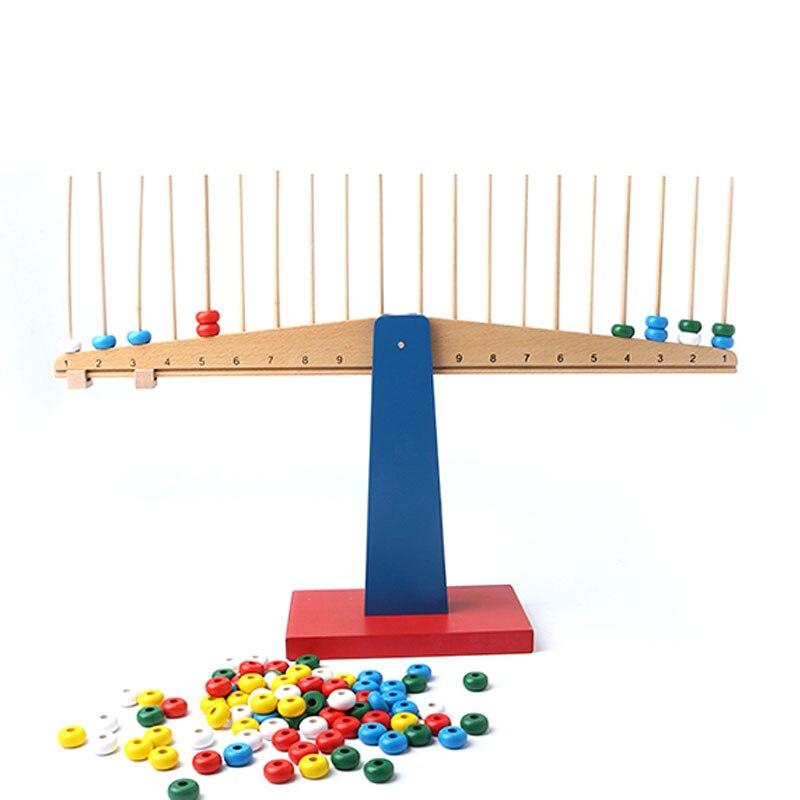 Jouets Montessori en bois bébé Montessori échelles matériaux éducatifs jouets d'apprentissage pour les tout-petits Juguetes Brinquedos MH0866H - 2