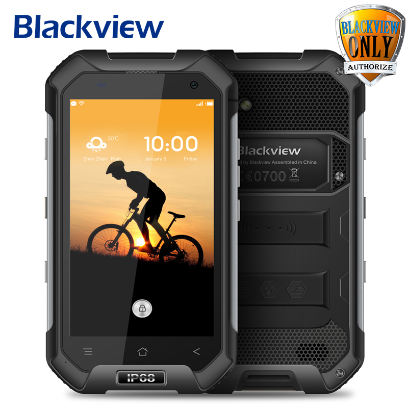 Oficial blackview mtk6737 bv6000s teléfono móvil android 6.0 quad core 4g lte fd