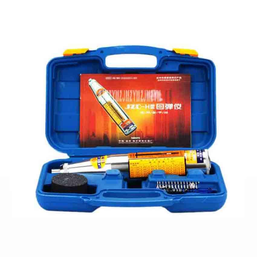 New JZC HT Portable Concrete Strength Test Hammer Measuring and Testing Mechanical Hammer Concrete Test Hammer 785N/M 0.5N 0.8N