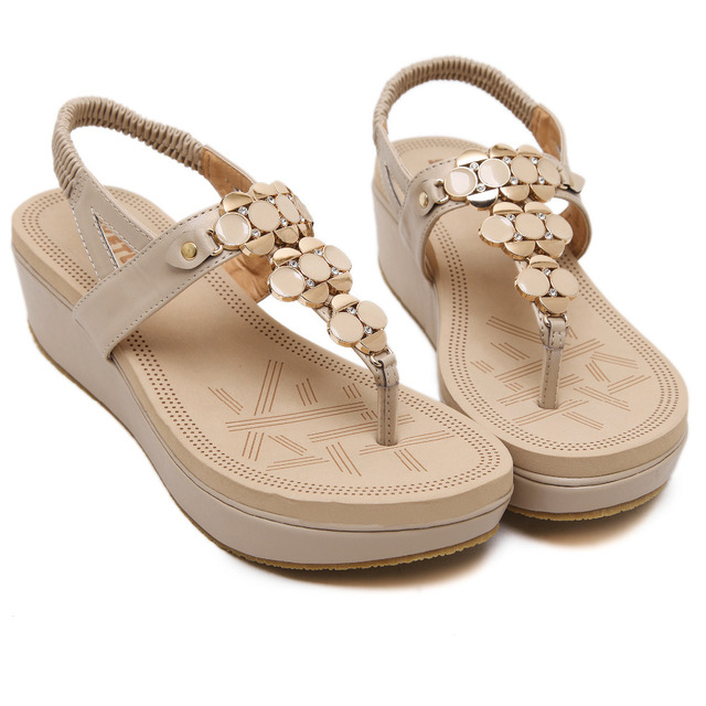 Summer Comfortable Sandals Women Platform Sandals Fashion Flip Flops Shoes Woman Sandals 35-40 SIKETU Brand