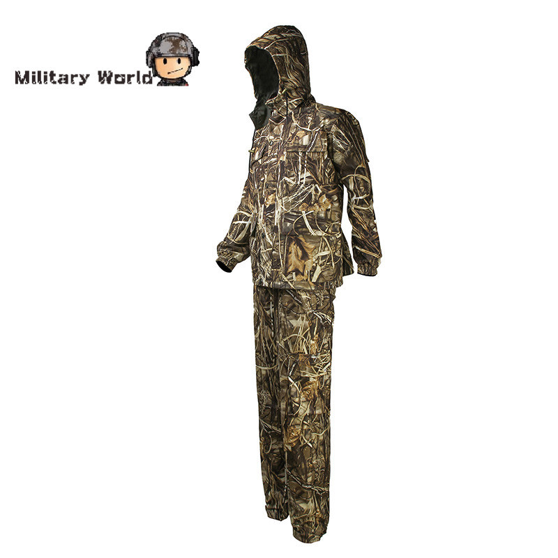 Tactical Camouflage Military Uniform Clothes Suit Waterproof Army Hunting Combat Jacket + Pants Cmaping Coat Trousers military uniform multicam army combat shirt uniform tactical pants with knee pads camouflage suit hunting clothes