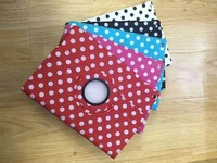 Ultra Slim Polka Dot 360 Degree Rotating Stand PU Leather Cover Smart Case For Apple Ipad