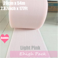 0 2 54m Light Pink Heart Shape Air Bubble Roll Party Favors And Gifts Packing Foam