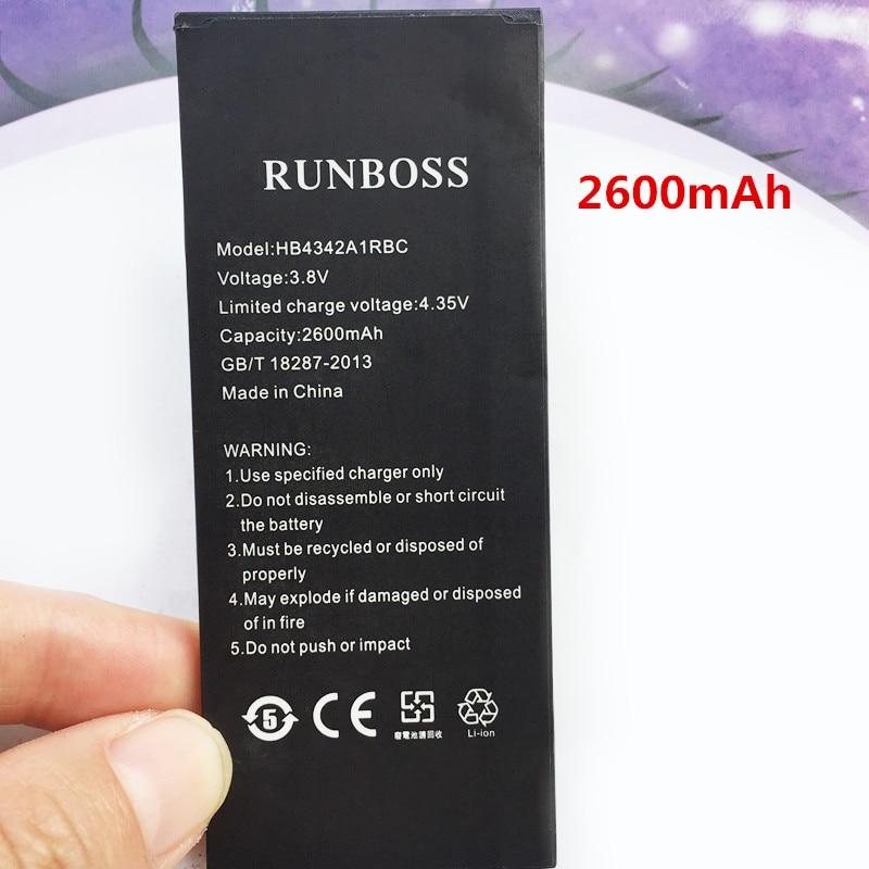 2600 mAh HB4342A1RBC batería para Huawei y 5ii/Y5 II Y5 2 CUN-U29 CUN-L21 CUN-L01 Y6 II compacto/ honor 5A LYO-L21 batería