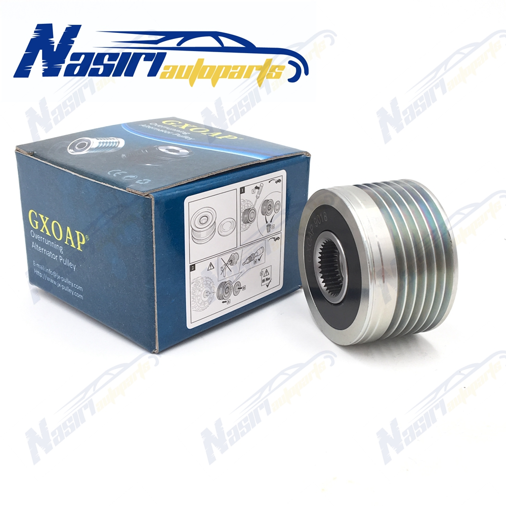 Overrunning Alternator Pulley For <font><b>Peugeot</b></font> <font><b>206</b></font> 306 307 406 607 806 Boxer Expert 1.4 1.6 2.0 2.2 2.8 <font><b>Diesel</b></font> image