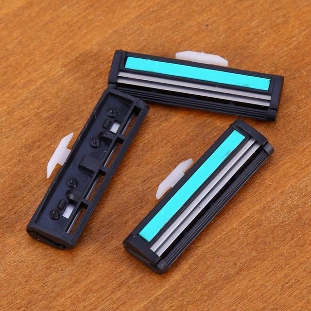 Hot Sales wholesale 12pcs/kit High Quality Men's Shaving Razor Blades Blades Razor Blade Face Care For Men Razor Kit Normal Size