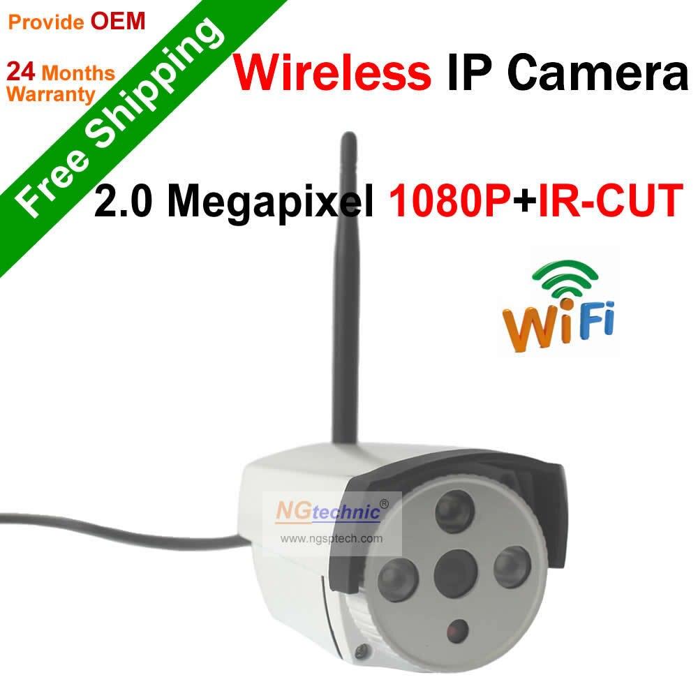 ФОТО Full HD 1080P Waterproof outdoor IP Wifi Camera with P2P Onvif Network IR Night Vision CCTV IP Wireless Camera Free shipping
