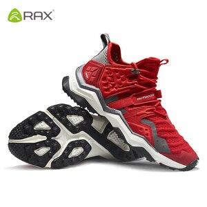 Image 3 - Rax mulher caminhadas sapatos de pouco peso 2019 primavera novo modelo esportes ao ar livre tênis para mulher sapatos de caminhada montanha femaletrekking