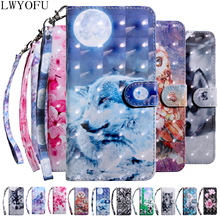 Flip holster for Huawei Y7 2019 / PRO PRIME Case 3D Cover Wallet Phone