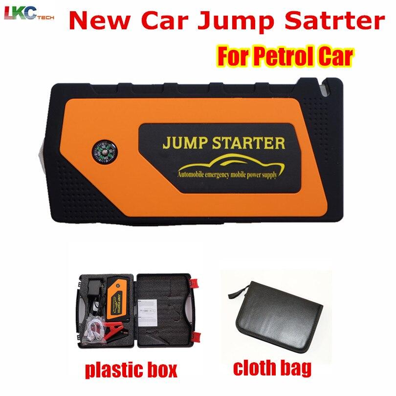 Новые Multi-Функция 12 В автомобиля Пусковые устройства 4USB Запасные Аккумуляторы для телефонов Компасы SOS огни 600a пик автомобиля Батарея Заряд…
