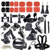 Hot Sell Gopro Accessories Set Kits For Gopro Hero4 Session 4 3 Plus SJ4000 Xiaomi Yi
