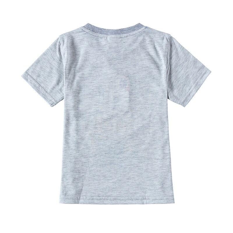 novatx dzieci noszą dzieci t-shirty 2018 letnie dziecko krótki - Ubrania dziecięce - Zdjęcie 5