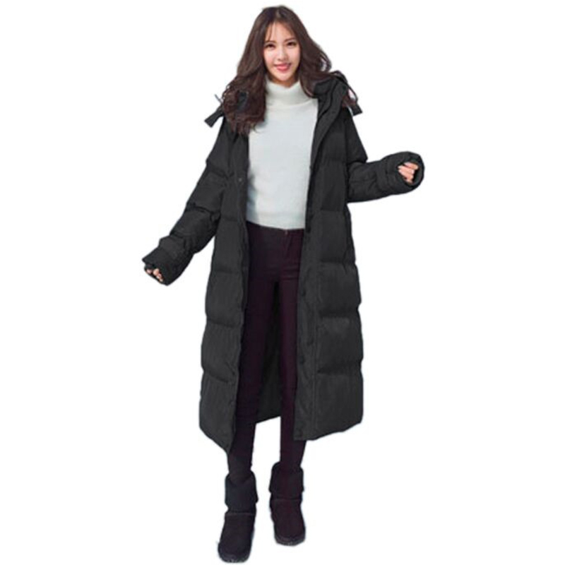 Winter High Quality Thick Long Cotton Jacket Loose Warm Padded Parka Female Outerwear Coat Casual Thick Ukraine Parka TT2920 high quality thick warm wind down jacket female fashion casual cotton coat women winter coat jacket warm long outerwear overwear