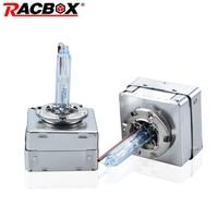 RACBOX 1Set D5s Hid Xenon Automotive Headlight Lamp Bulb K3 Car Dedicated Headlamp 35W 5500K Single