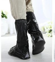 REUSABLE MOTORCYCLE WATERPROOF RAIN BOOT SHOES COVERS CANADA(China)