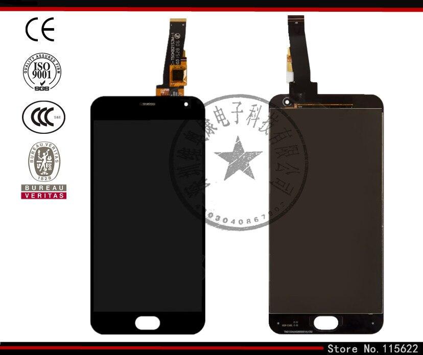 Pantalla lcd de pantalla para meizu m2 teléfono celular, (negro, con pantalla tá