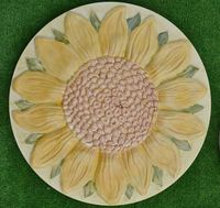 Sunflower Flower Plastic Garden Stepping Stone Casting Mold Path Maker DIY Yard Concrete Molds for Home Decoration