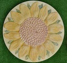 Sunflower Flower Plastic Garden Stepping Stone Casting Mold Path Maker DIY  Yard Concrete Molds For Home Decoration