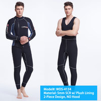 2019 Men Male 5mm Wetsuit 1.5mm Wet Neoprene 3mm Wetsuits Suit SCR Diving Suits SCR