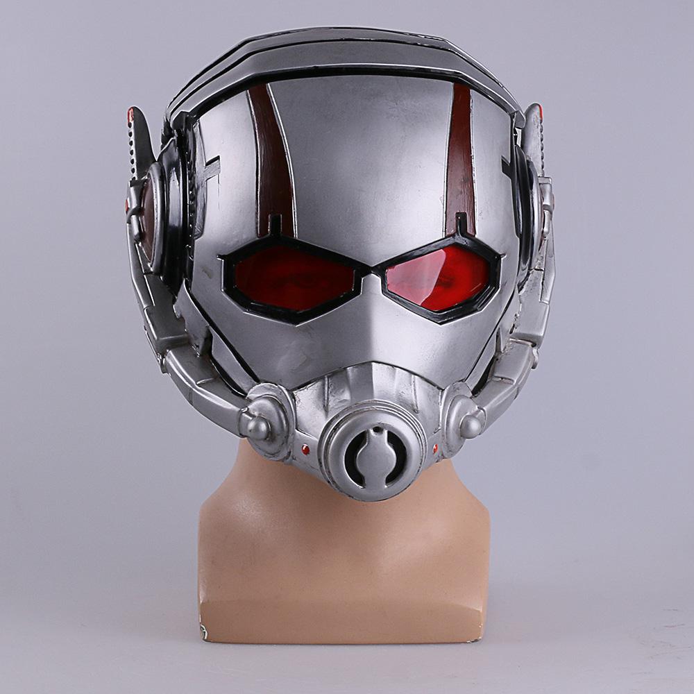 Ant Man Maschera Antman Costume Resina Ant-man Helmet Cosplay Maschera di Halloween Mascaras Maschere Batman Iron Man Helmet (8)