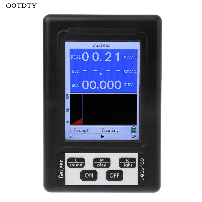 Upgrade Geiger Counter Nuclear Radiation Detector Personal Dosimeter Marble Tester X-ray Beta Gamma Ray Display Screen RadiationUpgrade Geiger Counter Nuclear Radiation Detector Personal Dosimeter Marble Tester X-ray Beta Gamma Ray Display Screen Radiation