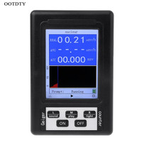 Upgrade Geiger Counter Nuclear Radiation Detector Personal Dosimeter Marble Tester X ray Beta Gamma Ray Display Screen Radiation