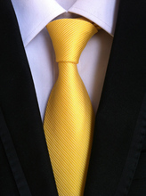 Фотография CityRaider Brand 8cm New Necktie Groom Gentleman Ties Men Wedding Party Formal Solid Silk Gravata Slim Arrow Tie Corbatas LD034