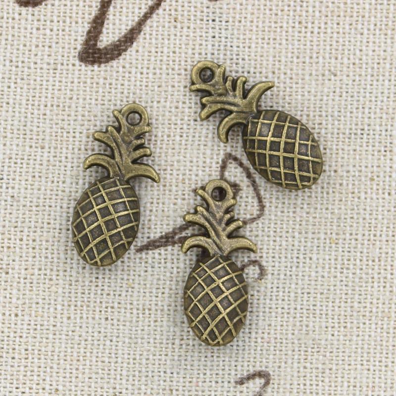 10pcs Charms pineapple 23*10mm handmade Craft pendant making fit,Vintage Tibetan Bronze,DIY for bracelet necklace