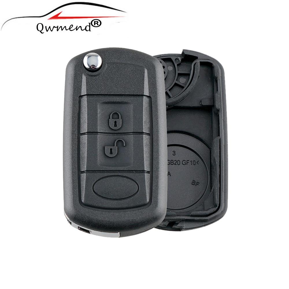 Case Car-Cover Folding Car-Key-Shell Hu101-Blade 3buttons Remote For 2005-2009 Flip-Fob