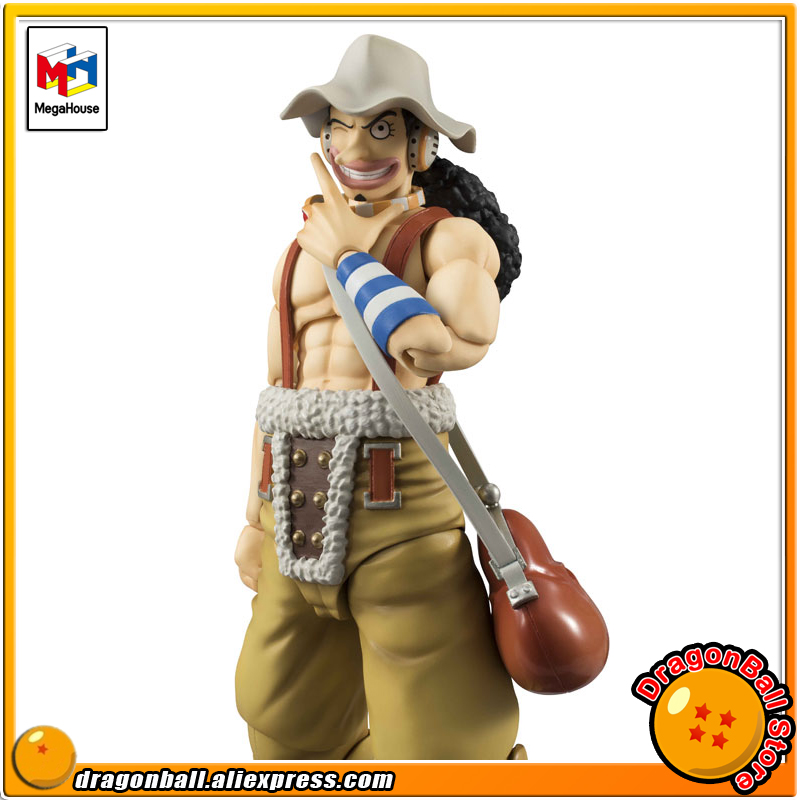 Japan Anime ONE PIECE Original MegaHouse Variable Action Heroes Action Figure - Usopp