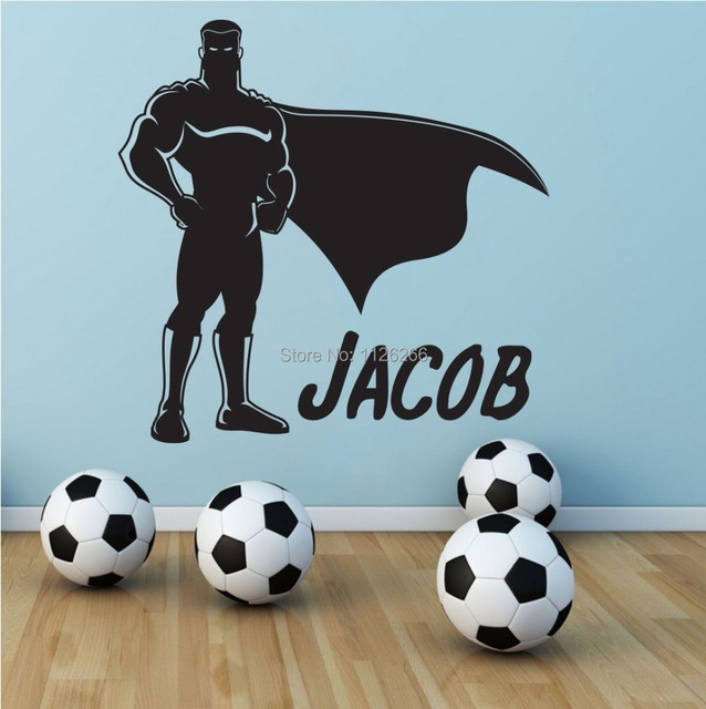 Aliexpresscom  Buy Custom Made Personalized Superman Wall - Custom vinyl wall decal equipment