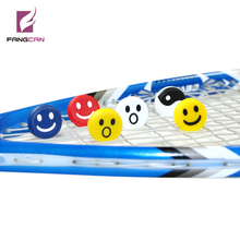 (60pcs/lot) FANGCAN Tennis Racket Vibration Dampener Silicone Dampeners for Racket Cute Racquet Shock Absorption Necessories