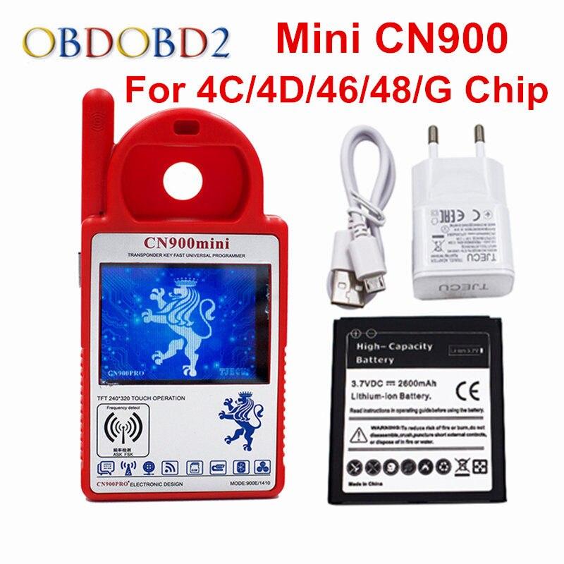 2017 Новый Mini CN900 Key Программист Smart CN900 mini может копировать 4C/4D/46/48/g чип мини CN 900 Auto Key programatore мини CN 900