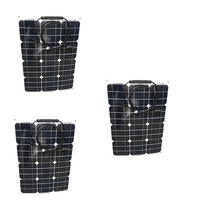 leory 110w 12v flexible solar panel diy battery system sunpower solar cells charger for rv boat car with 1 5m cable 1180mmx540mm DIY Portable Panel Solar Flexible 12v 35w 3 Pcs Zonnepanelen 105w 36v Solar Battery Charger Rv Motorhome Boat Caravan Car Camp