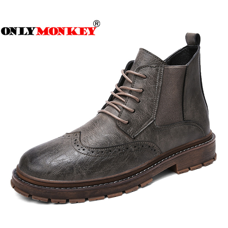 ONLYMONKEY Boots Hunting Hiking-Shoes Outdoor Sport Men Waterproof High-Quality