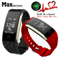 Maxinrytec Smartwatch Women Steps Counting Smart Band Fitness Tracker Heart Rate Monitor Smart Bracelet For Android IOS