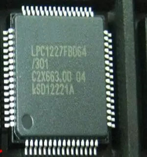 Freight free 20PCS/lot LPC1227FBD64/301 LPC1227FBD64 LPC1227 LQFP64