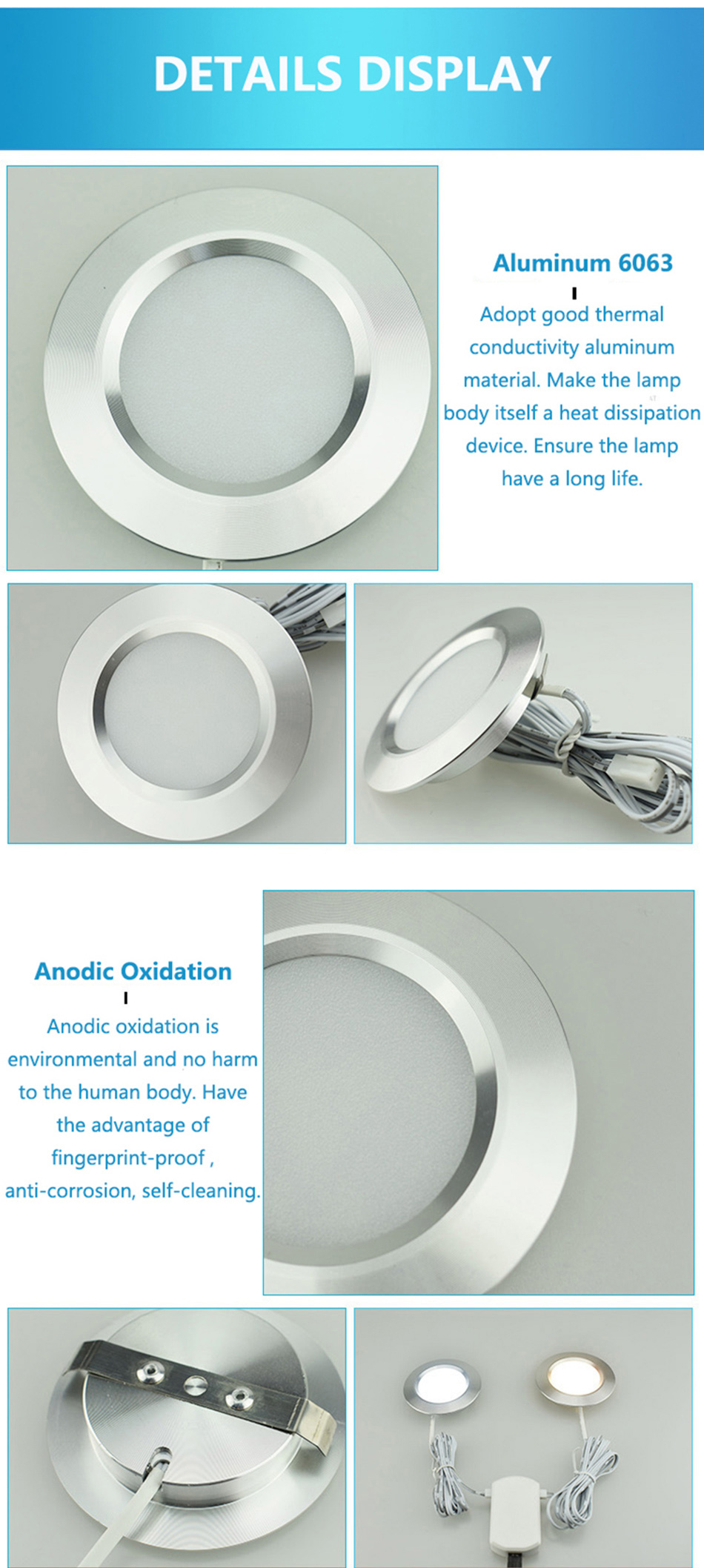3W under cabinet lamp5