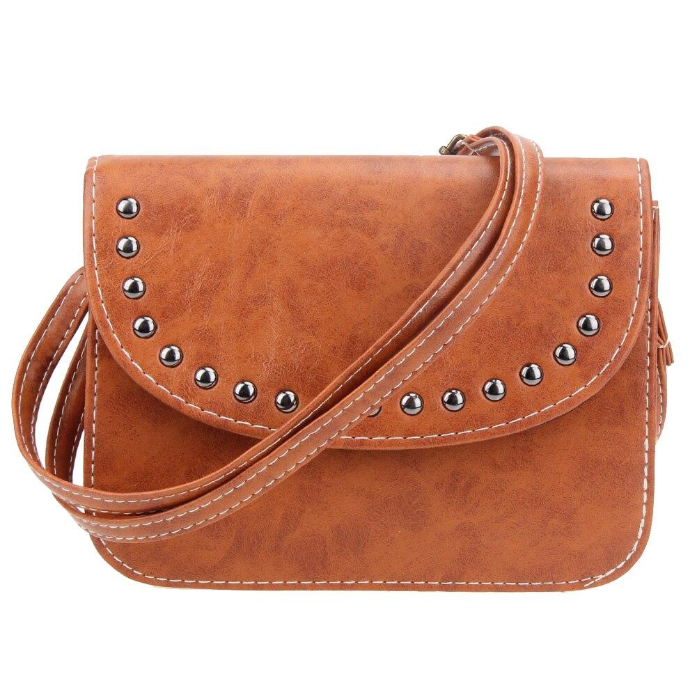 Новые модные женские ретро искусственная кожа crossbody Сумка Винтаж Обувь для девочек сумки небольшой Курьерские сумки