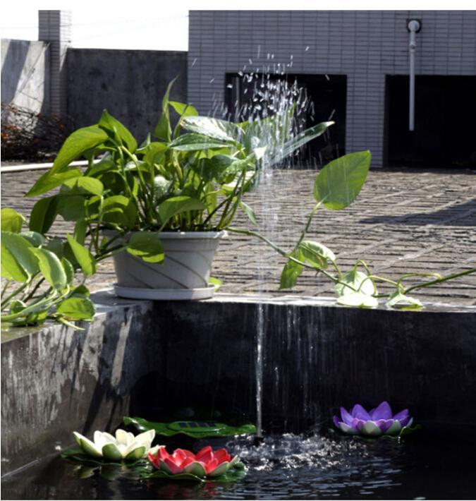 LumiParty круглые солнечные фонтан 1,2 Вт 5 В IP68 160L/H Круглый модель солнечной открытый сад Портативный водяной насос фонтан Kit